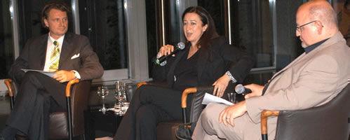 Simone Young im Gespräch mit Hans-Juergen Fink und Claus Friede